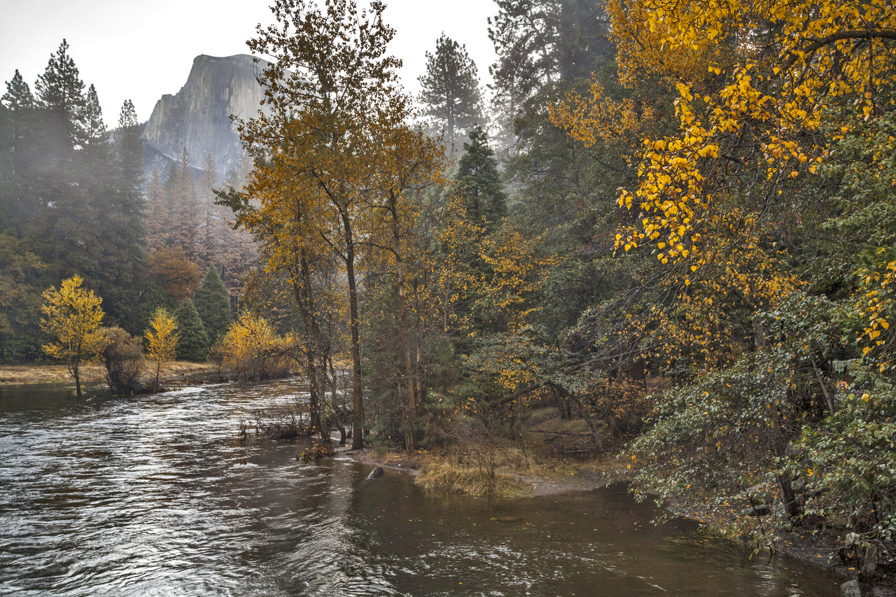 Merced River in Autumn by Yosemite Conservancy/Keith Walklet