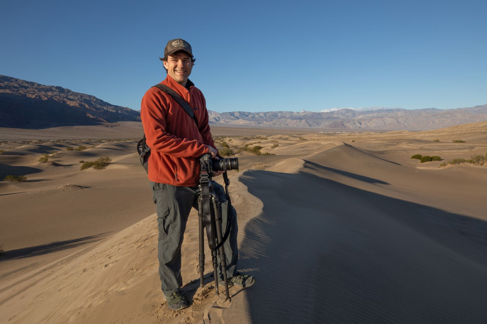 Chris Nicholson in Death Valley