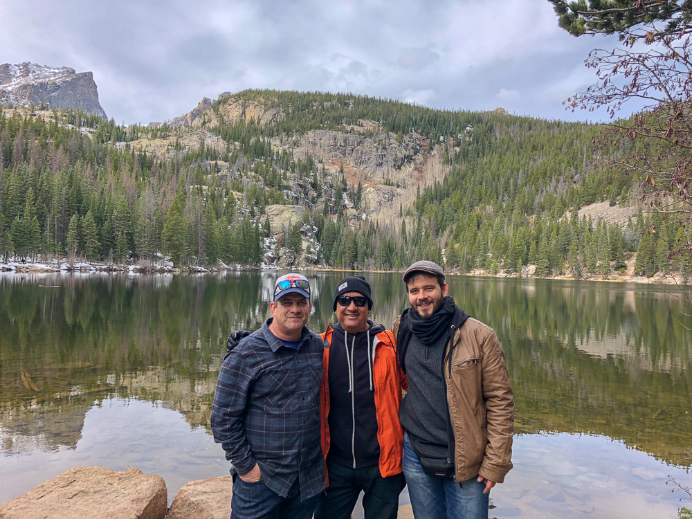 Taking friends from Nicaragua to Rocky Mountain National Park