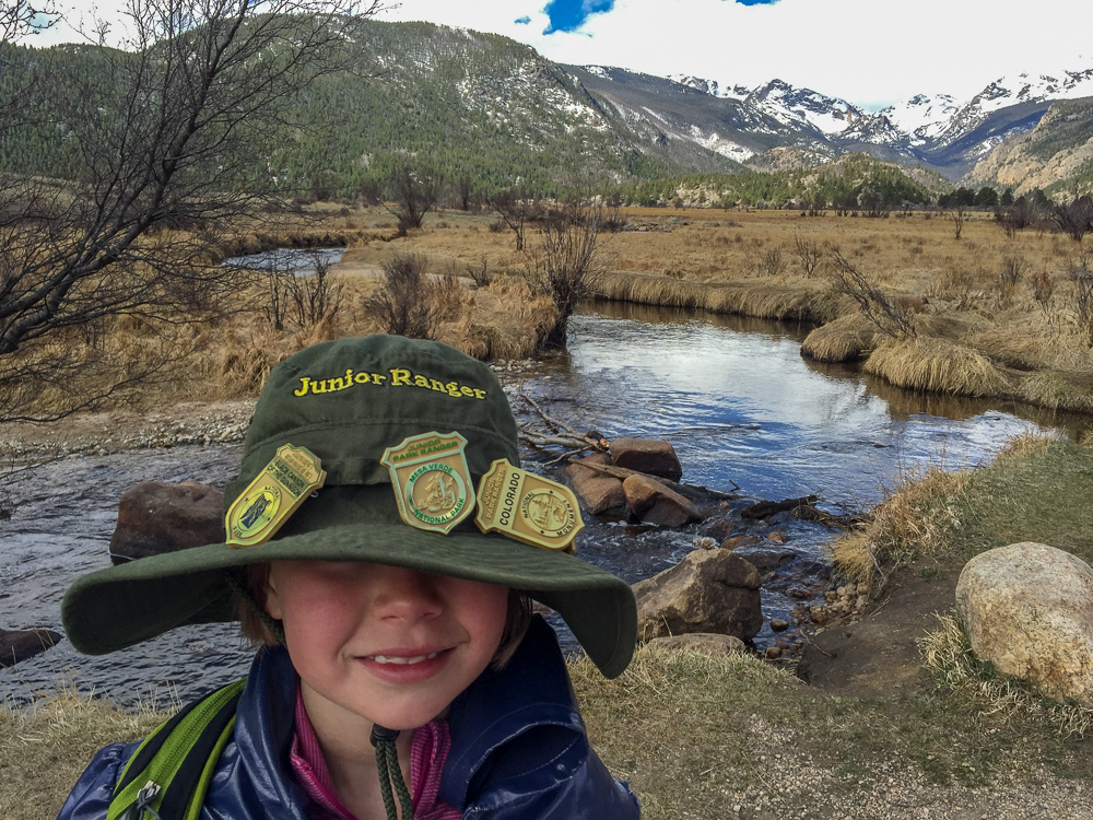 The Junior Ranger program is alive and well at all four of Colorado's National Parks.